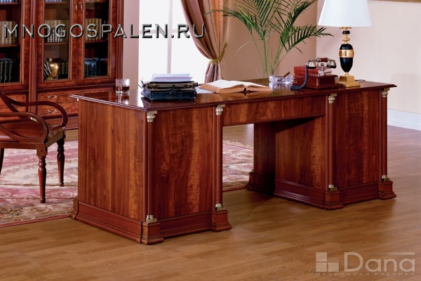 Стол письменный Атланта №33 купить в салоне-студии мебели Барселона mnogospalen.ru много спален мебель Италии классические современные