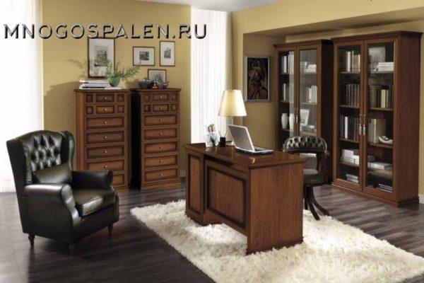 Кабинет NOSTALGIA Camelgroup купить в салоне-студии мебели Барселона mnogospalen.ru много спален мебель Италии классические современные