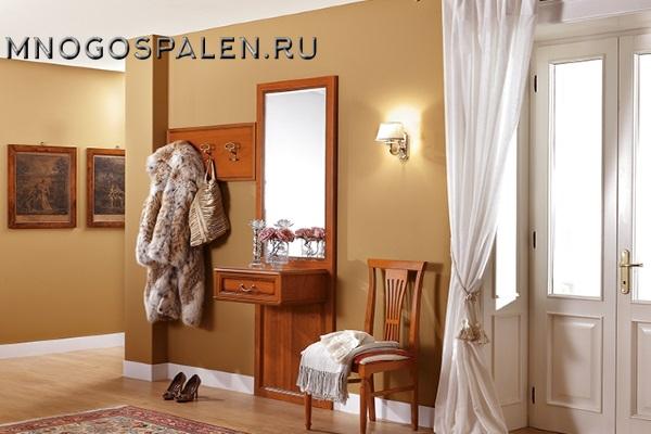 ПРИХОЖАЯ NOSTALGIA композиция 1 Camelgroup купить в салоне-студии мебели Барселона mnogospalen.ru много спален мебель Италии классические современные