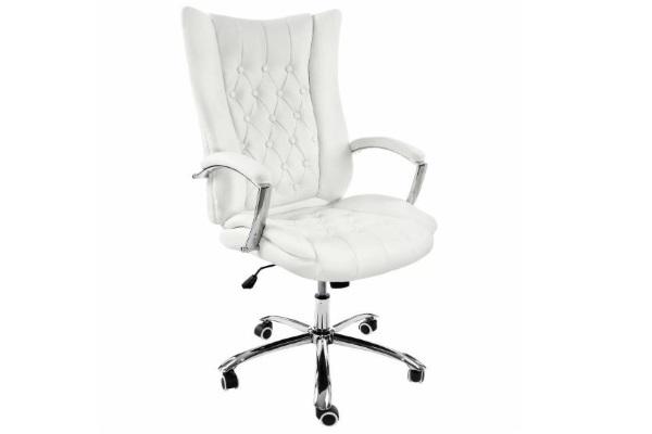 Компьютерное кресло Blant белое купить в салоне-студии мебели Барселона mnogospalen.ru много спален мебель Италии классические современные