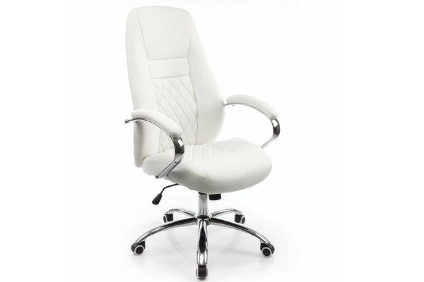 Компьютерное кресло Aragon белое купить в салоне-студии мебели Барселона mnogospalen.ru много спален мебель Италии классические современные