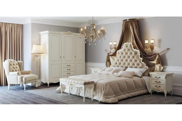Спальня Atelier Gold купить в салоне-студии мебели Барселона mnogospalen.ru много спален мебель Италии классические современные