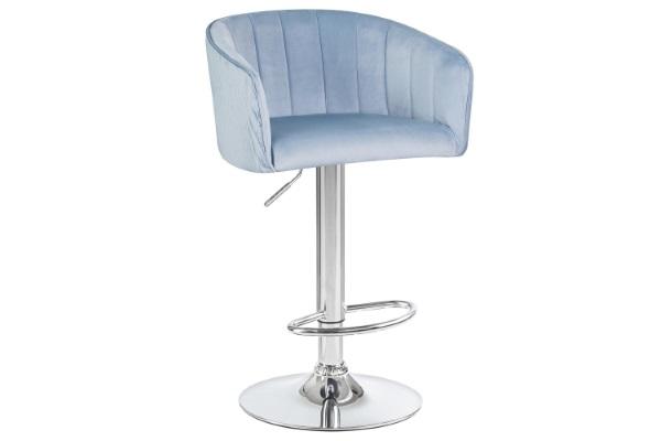 Барный стул 5025 серо-голубой купить в салоне-студии мебели Барселона mnogospalen.ru много спален мебель Италии классические современные