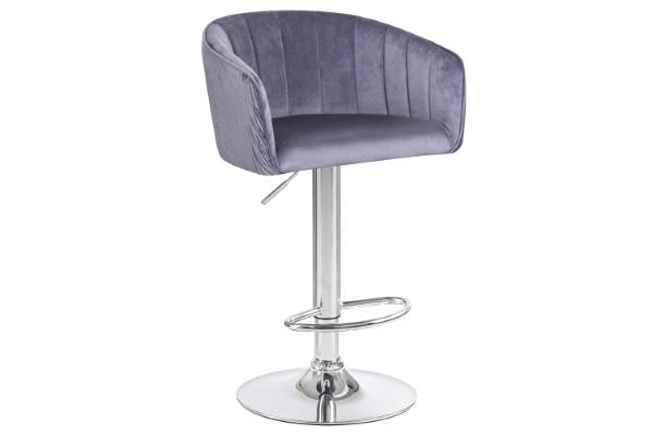 Барный стул 5025 серый купить в салоне-студии мебели Барселона mnogospalen.ru много спален мебель Италии классические современные